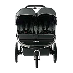 Lightweight Double Stroller for Infants and Toddlers