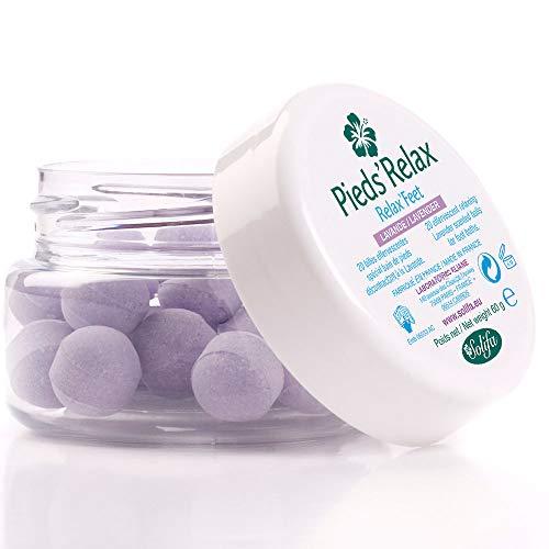 PIEDS'RELAX (LAVENDA) - Tratamiento de Baño de Pies - 20 Bolas Efervescentes...