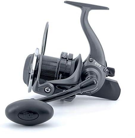 Tica Flash Surf Fs8000 Fishing Reel Grey Black 4 1 Sport Freizeit