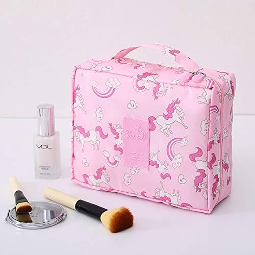 PoplarSun Sac cosmétique Voyage Multifonction Neceser Femmes Maquillage Sacs de Toilette Organisateur Waterproof Femme Stockage Maquillage Cases (Color : DF10)