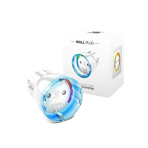 FIBARO Wall Plug Type F / Presa intelligente Z-Wave Plus, FGWPF-102