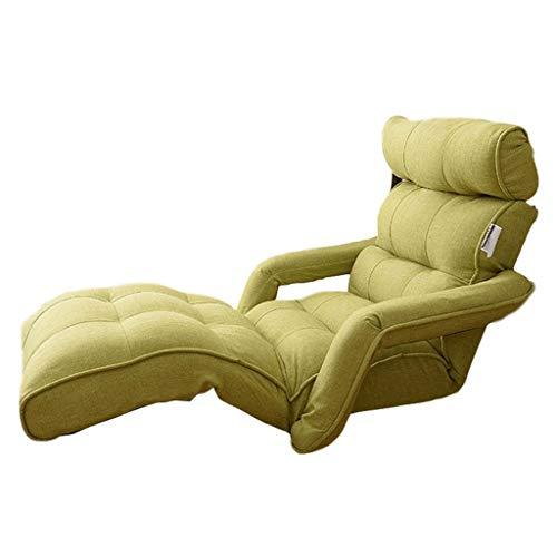 Canapés et divans Chaise De Canapé Réglable À Plusieurs Vitesses Canapé Créatif Pliable Fauteuil Inclinable pour Canapé-lit dans La Chambre Canapé-lit Simple avec Baie Vitrée Portique 120KG
