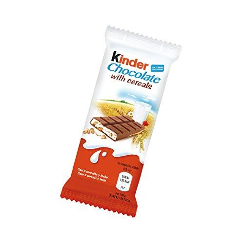 Kinder Snack de Chocolate con Cereales - 23.5 gr