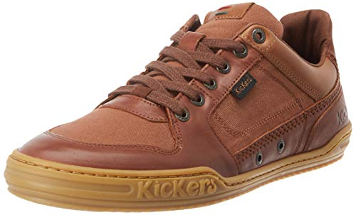 Kickers Jungle, Baskets Hommes, Marron (Marron 9), 43...
