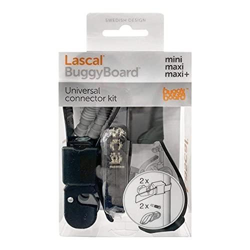 Lascal 19211 Universal Accouplement BuggyBoard, Noir [couleur des vis - Gris]