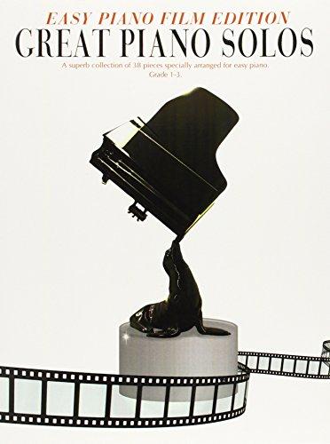 Great Piano Solos - Easy Piano Film Edition: Noten, Sammelband für Klavier