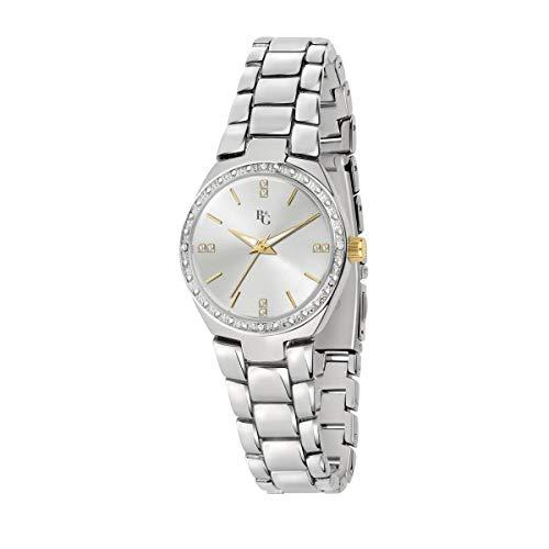B&G Reloj Mujer, Colección Legend, Analógico, Solo Tiempo, en Acero, Aleación - R3853278502