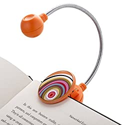 Coin cell batteries lightweight book light for reading in bed for kids girls boys
