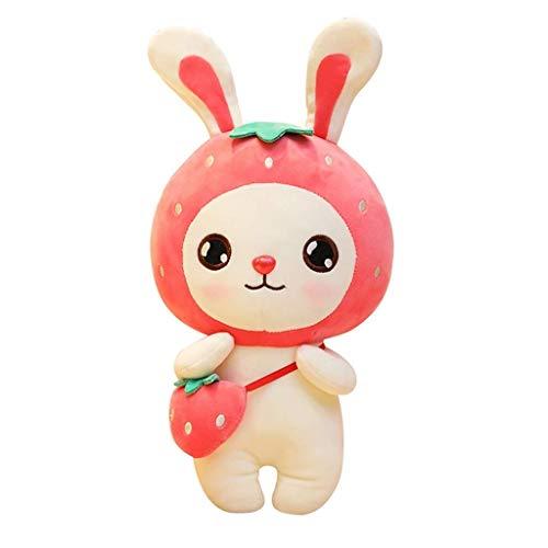 HJHJK Plüsch-Kaninchen-Ohr-sitzendes Häschen-Plüschtier for Babys scherzt Jungen-Mädchen (Size : 30CM)