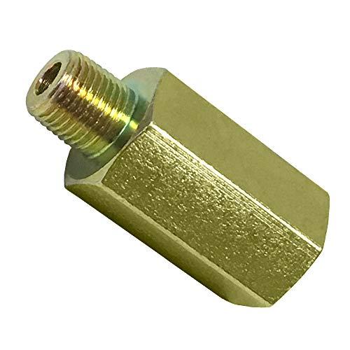 GlowShift Transmission Test Port Sensor Thread Adapter for 1994-2007.5 Dodge Ram 48RE Automatic Transmission