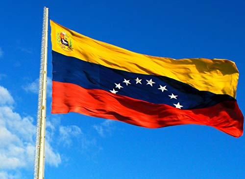 MARQUISE & LOREAN Bandera De Venezuela y Venezolana Grande Súper Resistente Si Te Sientes Venezolano Mira