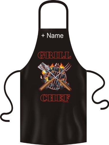 Fun blouses-gRILL cHEF barbecue avec le nom souhaité