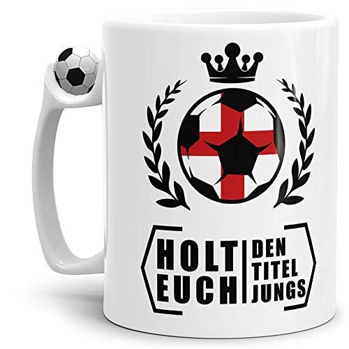 Tassendruck Fan-Tasse Holt Euch Den Titel England - Fussball/Weltmeisterschaft/WM/Mug/Cup/Tor/Fussball-Tasse