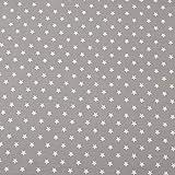 OIZEN 100 x 160 cm Baumwollstoff 100% Baumwoll Kleiderstoff
