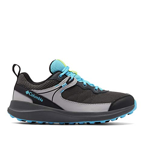 Columbia Młodzieżowe buty trekkingowe Trailstorm, szary - Dark Grey Cyan Blue - 18.5 EU