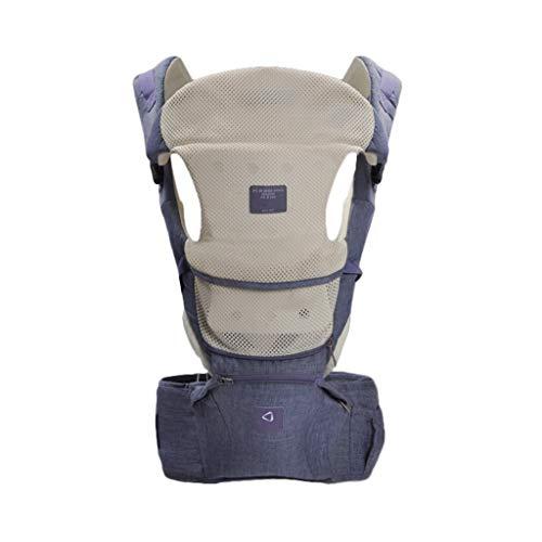 Porte-bébé Multifonction Bébé Respirant Assis sur la Taille Tabouret Amovible et indépendant Utilisation Quatre Saisons Universelle ( Color : B )