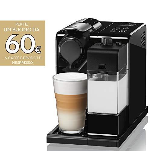 De'Longhi Nespresso Lattissima Touch Animation EN560.B Macchina da caffè, 1400 W, 1 Cups, Plastica, Nero