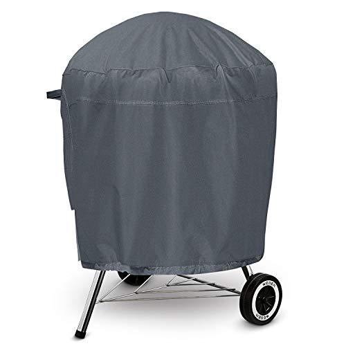 HOMEKOKO Copertura Barbecue Impermeabile Telo Protettivo per BBQ Grill Anti Pioggia Polvere Sole Neve Tessuto Oxford, 600D, 68.5 * 68.5 * 96.5cm, Grigio Scuro