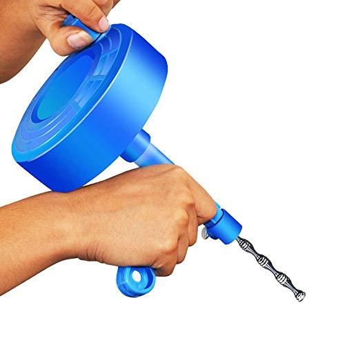 Keuken Toilet Riool Verstopping Handgereedschap Pijp Baggerafvoer Baggerleidingen Rioolgootsteen Reiniging Klompenreiniger, Blauw
