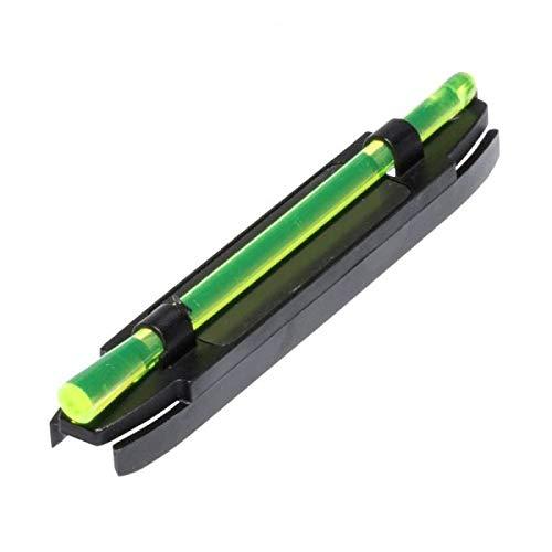 PARABELLUM Punto de mira Fibra óptica en Color Verde, imantado, se Puede Poner sin Quitar el Punto de mira del Arma.