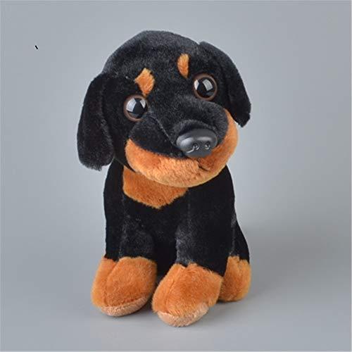 Juguete lindo de 30 cm Rottweiler Bichon Frise Cachorro de Peluche Perro de Peluche de Juguete Lindo Simulación Mascotas Esponjosas Bebé Muñecas Regalos de Cumpleaños