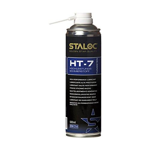 STALOC Hochleistungs-Schmierstoff HT-7 | Sprüh-Öl | Tungsten | mit exzellenter Druck- und Temperaturbeständigkeit | 500 ml
