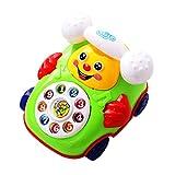 Juguetes creativos para niños de plástico para teléfonos en la Plataforma de Juego o Juegos de Juegos en el Patio Trasero, los niños fingen Jugar Juguetes para bebés dial Phone Retro Chatter Phone