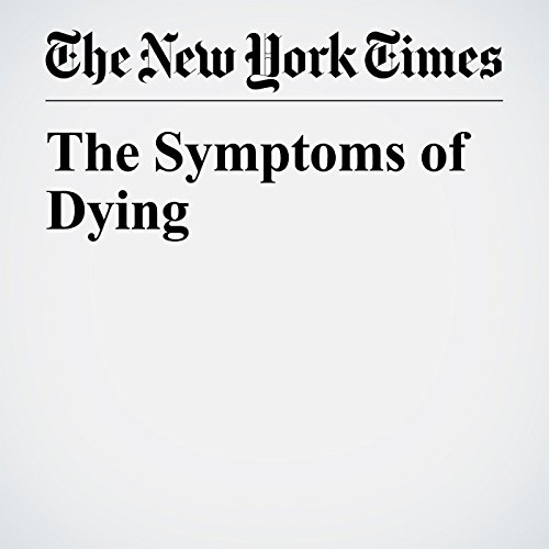 The Symptoms of Dying copertina