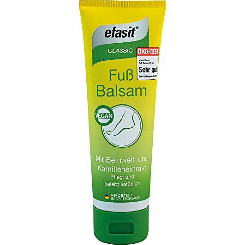 efasit CLASSIC Fuß Balsam Beinwell und Kamillenextrakt, 75 ml