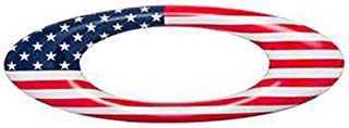 Oakley - Oakley Metal Sticker - USA Country Flag - Red/White/Blue - One Size Size: One Size, Model: , Car & Vehicle Accessories / Parts