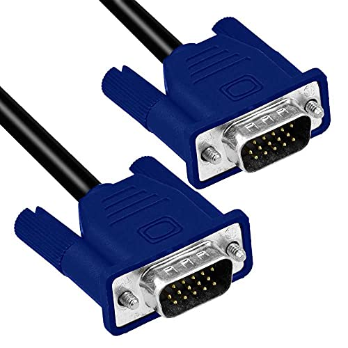 OcioDual Cable Alargador 15 Pin D-Sub DSub SVGA VGA Doble Macho M-M...