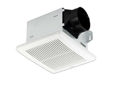 Delta Electronics (Americas) Ltd. ITG80H Delta BreezIntegrity Series 80 CFM Fan w/Adj. Humidity Sensor, 11.3 W, 1.5 Sones, With Dual Speed & Humidity, White