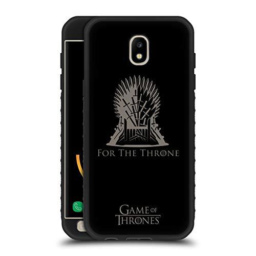 Head Case Designs Ufficiale HBO Game of Thrones Sedile in Ferro Vettore Stagione 8 per Il Trono Arte Cover Blindata Lite Nera Compatibile con Samsung Galaxy J5 (2017)