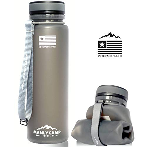Product Image of the ManlyCamp Collapsible Water Bottle