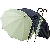 職人の手作り 紳士・婦人晴雨兼用長傘セット ウグイス OBAR-12GST