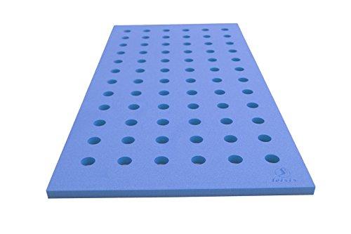 Leisis 0101040 Tapiz con Orificios, Azul, 100 x 50 cm