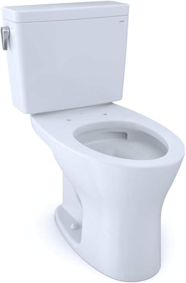 TOTO CST746CSMFG#01 Drake Two-Piece Elongated Dual Flush