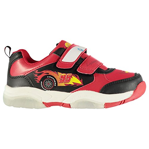 Character Enfants Light Up Baskets Sport Chaussures Sneakers Décontracté Velcro