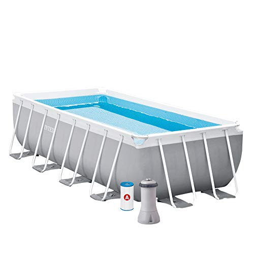INTEX Kit piscine Prism Frame rectangulaire 4.00 x 2.00 x 1.00 m