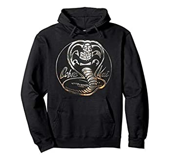 Cobra Kai Rusted Steel Snake Logo Pullover Hoodie