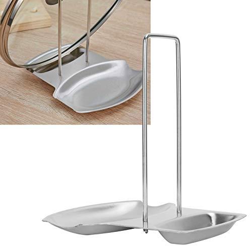 Olla para olla, tapa de olla Organizador Cubierta de olla para cocina para cuchara de sopa para cacerola