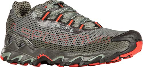 La Sportiva Women's Wildcat Trail Running Shoes, Clay/Hibiscus, 38.5
