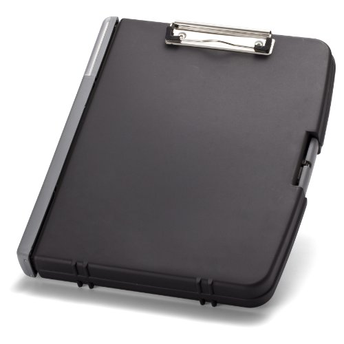 Officemate Triple File Clipboard Storage Box, Recycled, Black (83610) Photo #5