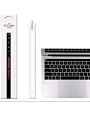 """OJOS™ Clear Matte MacBook Pro Touch Bar Protector MacBook Pro 13"""" 15"""" with Touch Bar Model A1706 A1707 Skin Film for 2018, 2017 or 2016 Released Macbook Pro Touch Bar Accessories/ Macbook Pro Touch Bar Protector - (Matte Clear)"""