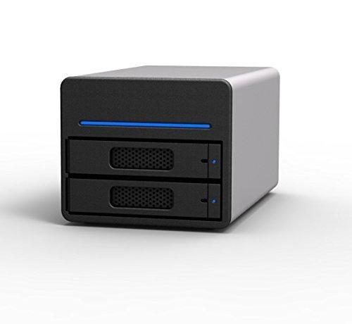 SOHOTANK ST2 (ST2-SB3-6G) 6G eSATA/USB3.0 RAID0/RAID1/JBOD 2ベイストレージケース