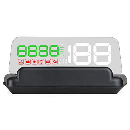 SANON Multi Function OBD Car Speedometer Projector Hud Head Up Display Digital Speedometer OBD2 Diagnostic Tool
