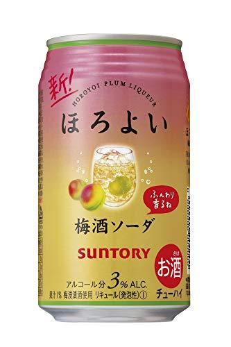 サントリー ほろよい【梅酒ソーダ】 [ チューハイ 350mlx24本 ]