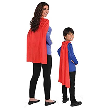Amscan 395888.4 Solid Red Costume Cape 30