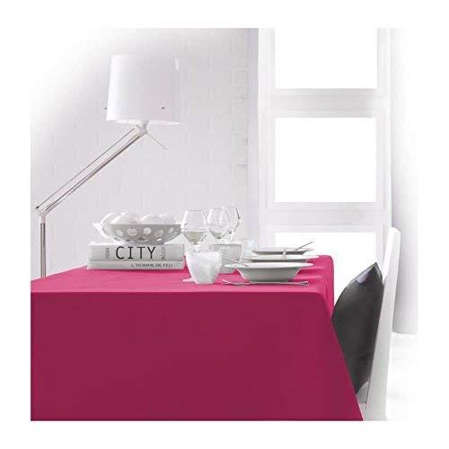 Today 256402 Nappe Polyester Jus de Myrtille/Fuchsia 150 x 250 cm