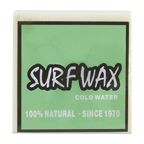 Keenso Skateboard Wax, Antideslizante Surf Wax Surfboard Skimboard Skateboard Waxes Surfing Accesorio(Verde)